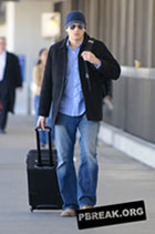 Wentworth Miller - LAX