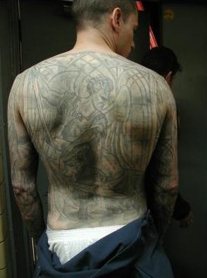 Prison Break - Wentworth Miller tatto